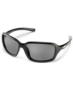 Suncloud Fortune Sunglasses- Black w/ Polar Grey