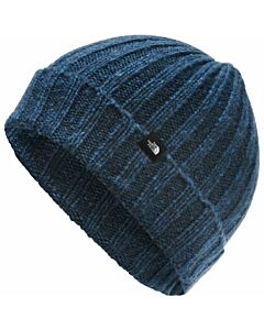The North Face Chunky Rib Beanie- Blue Wing Teal