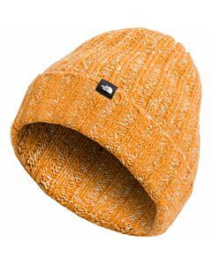 The North Face Chunky Rib Beanie- Citrine Yellow