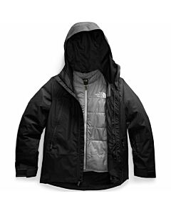 The North Face Clementine Triclimate Jacket Women's- TNF Black/ TNF Medium Grey Heather