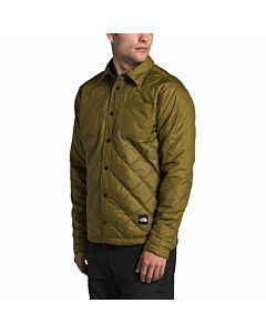 The North Face Fort Point Flannel Men's- Fir Green/ Root Brown