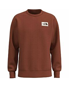 The North Face Heritage Patch Crew Men's- Burnt Ochre Heather