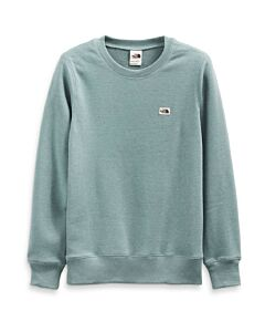 The North Face Heritage Patch Crew Women's- Silver Blue Heather