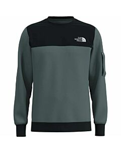 The North Face Highrail Crew Men's- Balsam Green