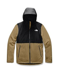 The North Face Inlux Insulated Jacket Men's- British Khaki/ TNF Black