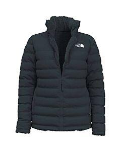 The North Face Mossbud Reverse Insulated Jacket Women's- Vanadis Grey/ TNF Black