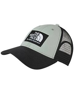 The North Face Mudder Trucker Hat- Jadeite Green/ TNF Black