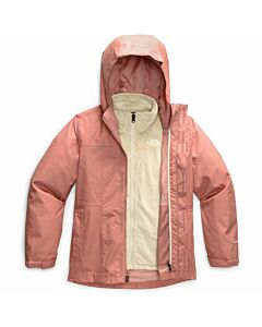 The North Face Osolita Triclimate Jacket Girl's- Pink Clay