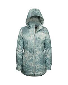 The North Face Printed Tamburello Jacket Women's- Jadeite