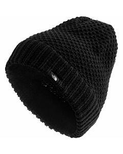 The North Face Purrl Stitch Beanie- TNF Black