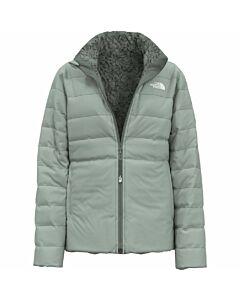 The North Face Rev Mossbud Jacket Fleece Girl's- Jadeite Green