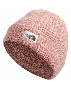 The North Face Salty Bae Beanie- Pink Clay