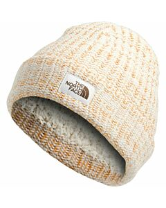 The North Face Salty Bae Beanie- Vintage White