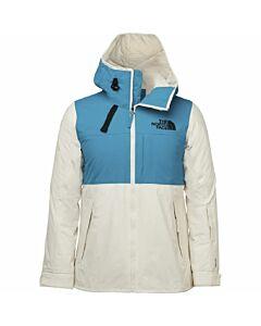 The North Face Superlu Jacket Women's- Enamel Blue/Gardenia White