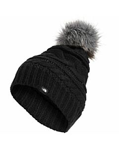 The North Face Triple Cable Beanie- TNF Black