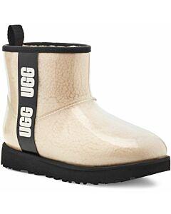 Ugg Classic Clear Mini Boots Women's- Natural/ Black