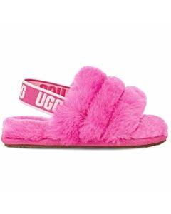 Ugg Fluff Yeah Slide Slipper Toddler- Rock Rose