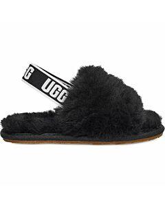 Ugg Fluff Yeah Slide Slipper Toddler's- Black