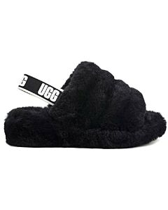 Ugg Fluff Yeah Slide Women's- Black