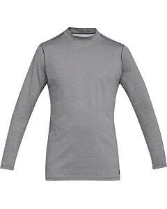 Under Armour CG Mock Fitted Mens'- Charcoal Light Heather