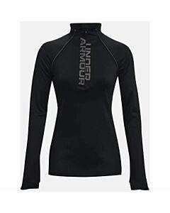 Under Armour UA Cozy 1/2 Zip Shirt Women's- Black