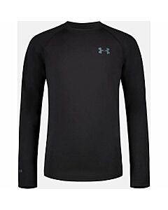 Under Armour Youth Base 2.0 Crew- Black