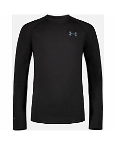 Under Armour Youth Base 4.0 Crew- Black