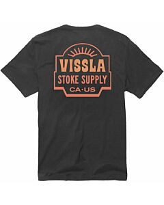 Vissla Be Good Supply Pocket Tee Men's- Phantom