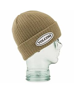 Volcom Cord Beanie- Gold