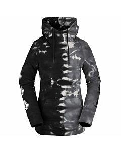 Volcom Costus P/O Fleece Women's- Black On Black