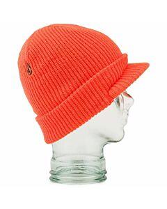 Volcom JLA Visor Beanie- Orange
