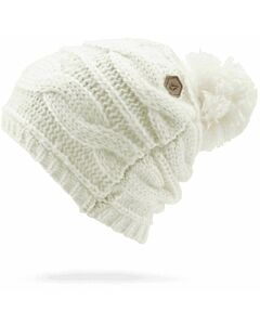 Volcom Leaf Beanie- White