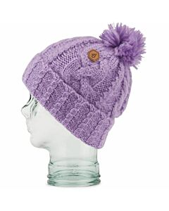 Volcom Leaf Beanie Women's- Lavender