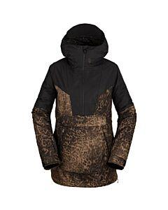 Volcom Mirror Pullover Jacket Women's- Leopard