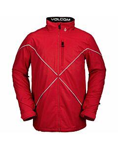 Volcom No Hood X Jacket Men's- Red