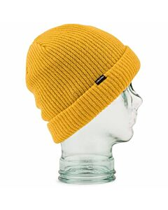 Volcom Sweep Lined Beanie- Resin Gold