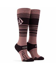 Volcom Tundra Tech Sock- Rosewood