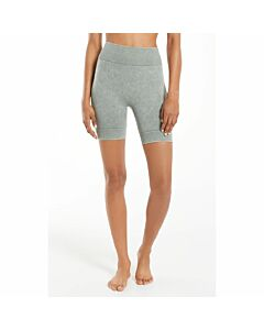 Z Supply Dance It Out Seamless Bike Short Women's- Agave Green